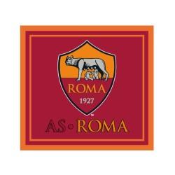 Roma bandiera logo rossa 140x140 cm ufficiale