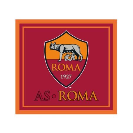Rome logo drapeau rouge 140x140 cm officiel
