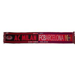 Sciarpa Milan vs Barcellona Champions League 2011/12