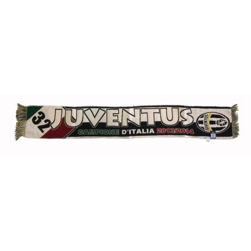 Juventus FC sciarpa Campioni d'Italia 32 Scudetto 2013/14