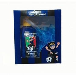 Lazio-geschenk-set seife + schwamm mit der offiziellen netzwerk