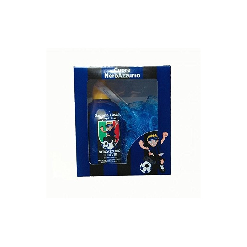 Lazio gift set soap + sponge to the official network