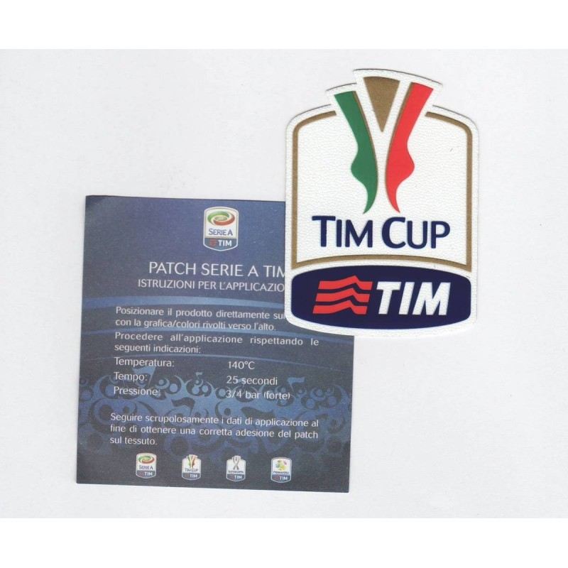 Patch Lega Calcio TIM CUP 2017/18