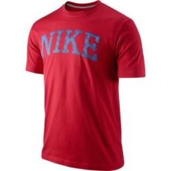 Nike T-shirt rouge à manches courtes