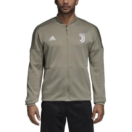 Juventus sweatshirt ZNE Jacket pre race gray 2018/19 Adidas