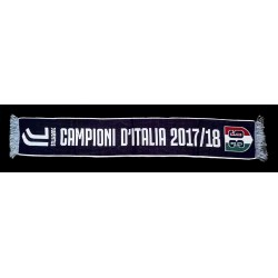 Foulard Juventus 36 Scudetto, les champions italiens 2017/18 officiel