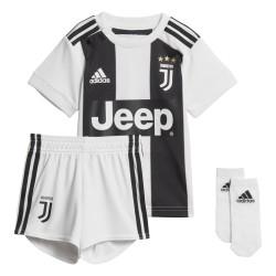 La Juventus bebé a casa mini kit 2018/19 Adidas