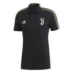 La Juventus de polo de representación de color negro Adidas 2018/19