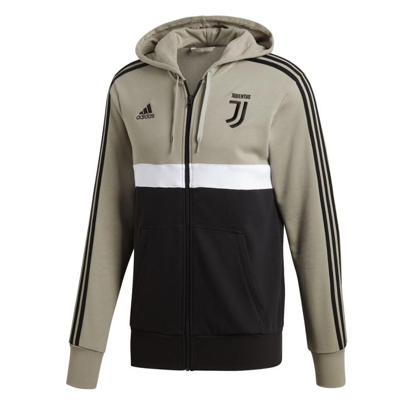 Juventus felpa 3 Stripes con cappuccio 2018/19 Adidas