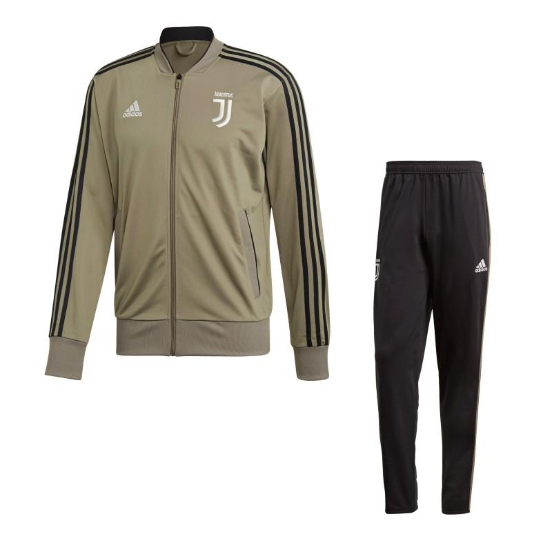 La Juventus de survêtement banc d'argile 2018/19 Adidas