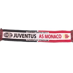 Scarf Juventus - AS Monaco 09/05/2017 UCL Champions League