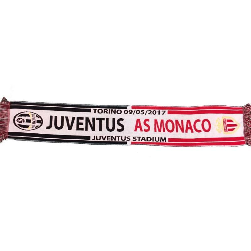 Sciarpa Juventus Monaco 09-05-2017 match UCL Champions League