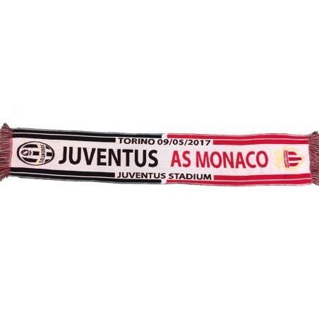 Scarf Juventus - AS Monaco 09/05/2017 UCL Champions League