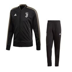 La Juventus de chándal de banco negro 2018/19 Adidas