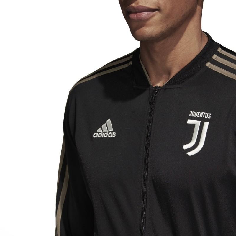 099d871ed Juventus tracksuit bench black 2018 19 Adidas
