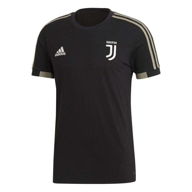 Juventus t-shirt reste noir 2018/19 Adidas
