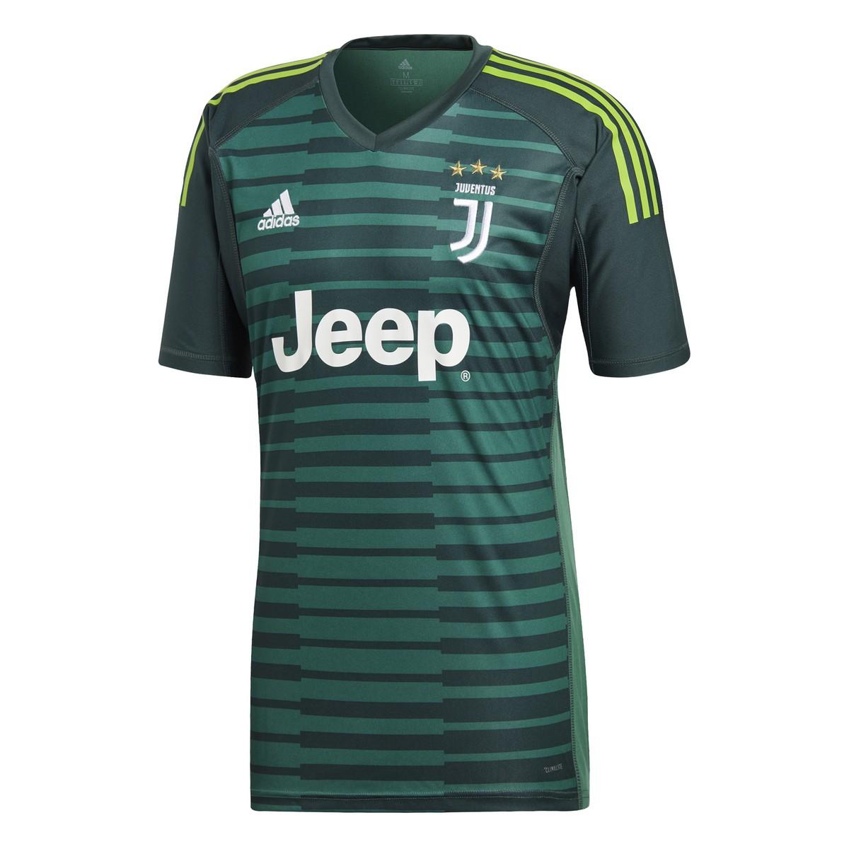 Juventus maglia portiere verde 2018/19 Adidas