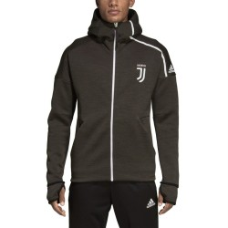 La Juventus Z. N. E. Hymne veste noir 2018/19 Adidas