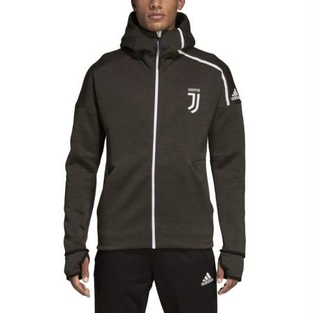 Juventus Z. N. E. Anthem jacket schwarz Adidas 2018/19