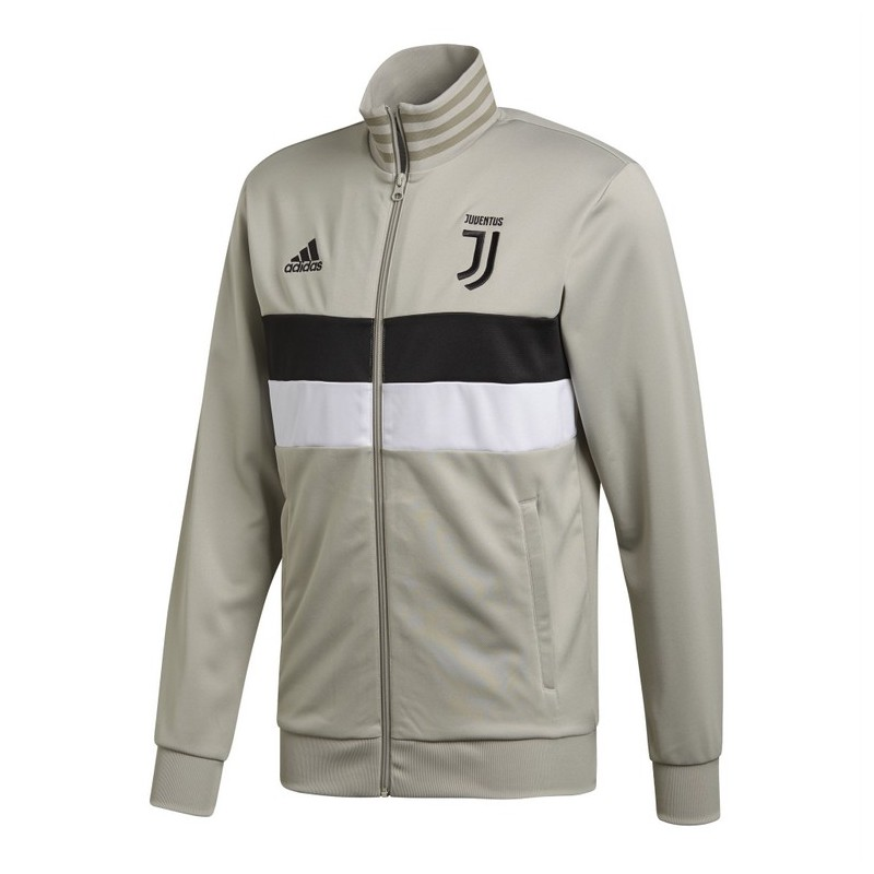 Juventus felpa Track Top 3 Stripes argilla 2018/19 Adidas