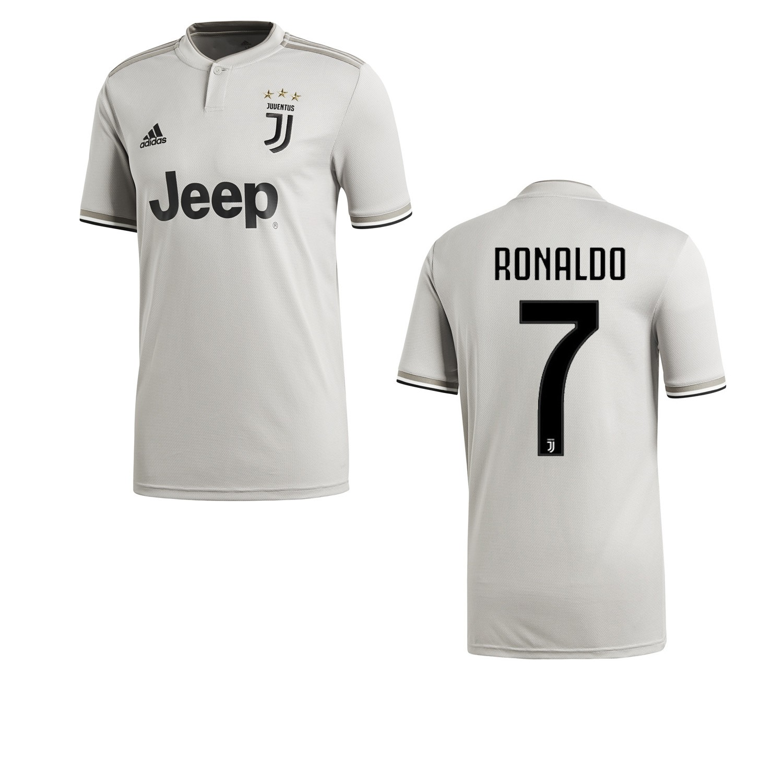 8d9267167 Ronaldo 7 Jersey Juventus lejos 2018 2019 Adidas