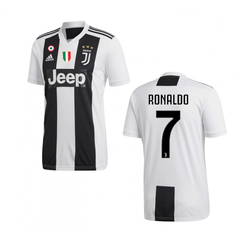 Ronaldo 7 Jersey Juventus home 2018/2019 Adidas