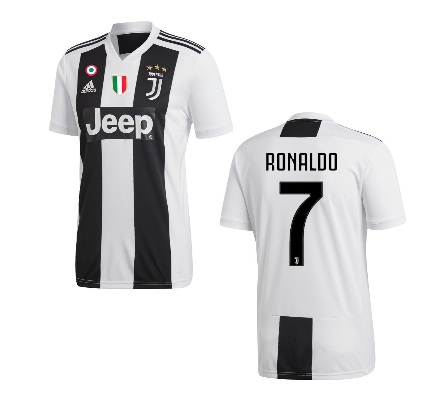 5038b4458b782e Ronaldo 7 Jersey Juventus home 2018/2019 Adidas