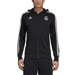 Real Madrid sweatshirt 3 Stripes mit kapuze 2018/19 Adidas