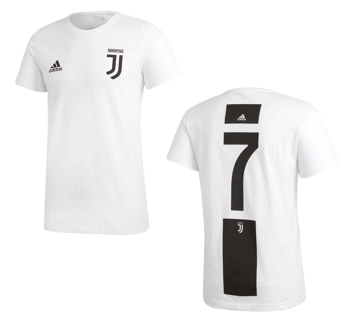 Juventus 7 Ronaldo Graphic t shirt 201819 Adidas
