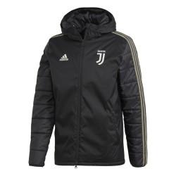 La Juventus chaqueta acolchada negro 2018/19 Adidas