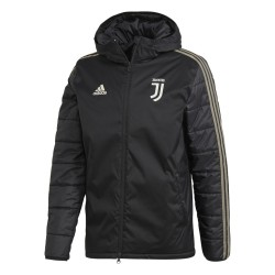 La Juventus veste matelassée noir 2018/19 Adidas