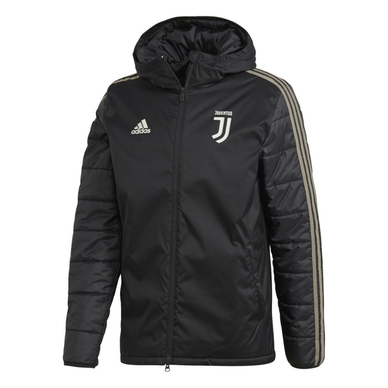 Juventus giaccone imbottito nero 2018/19 Adidas