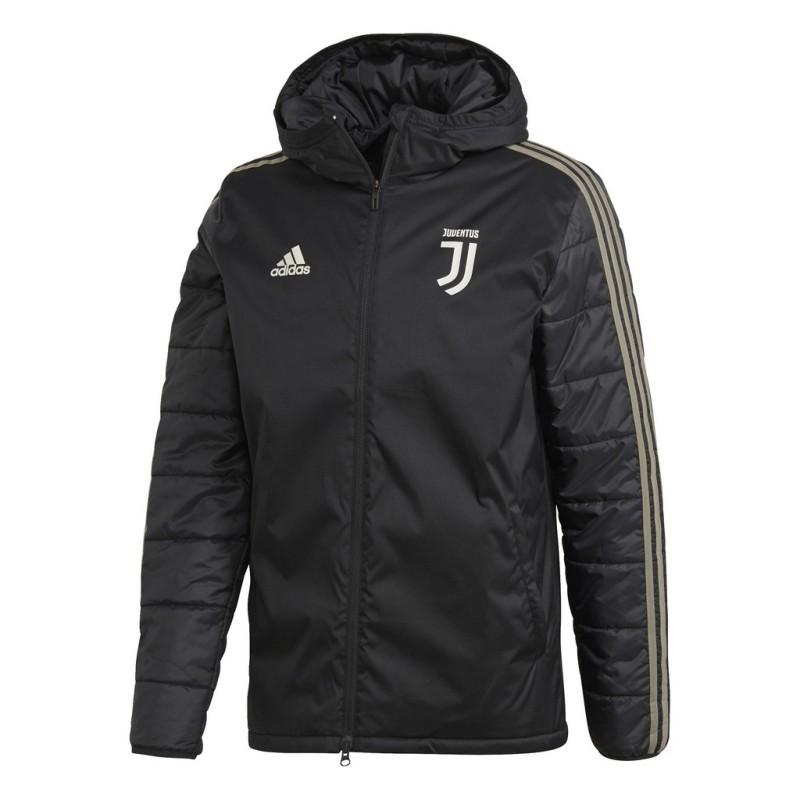 Juventus jacke kragen schwarz 2018/19 Adidas