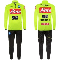Naples tracksuit training Aldebuo yellow 2018/19 Kappa