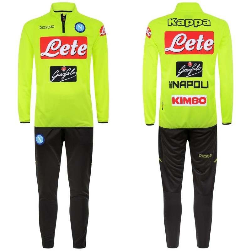 Naples tracksuit training Aldebuo yellow 2018/19 Kappa