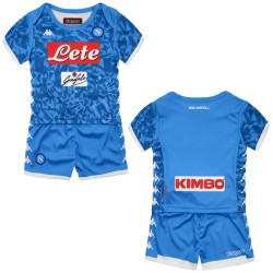 Naples jersey shorts home Baby newborn 2018/19 Kappa