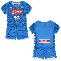 Naples jersey shorts home Baby newborn 2018/19 Kappa