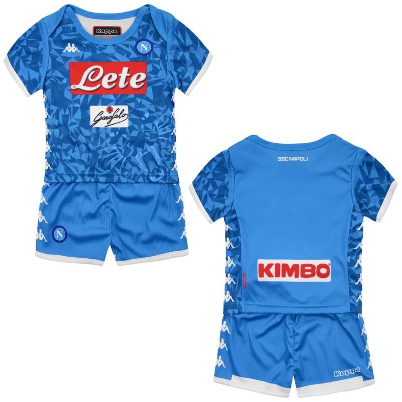 Neapel trikot-shorts home Baby neugeborenen 2018/19 Kappa