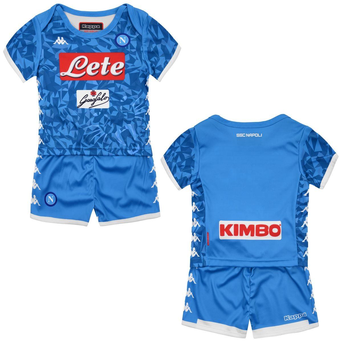 c0b5dd588 SSC Napoli jersey shorts home Baby newborn 2018 19 Kappa