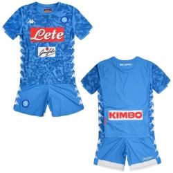 El SSC Napoli de pantalones cortos de jersey de bebé en casa 2018/19 Kappa