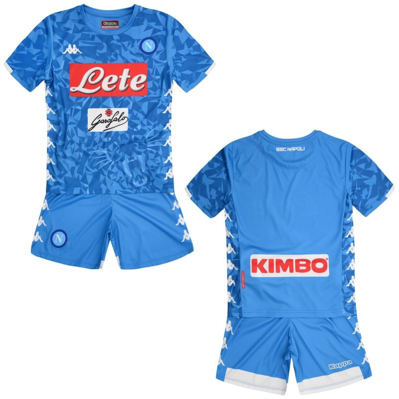 SSC Napoli jersey shorts home baby 2018/19 Kappa