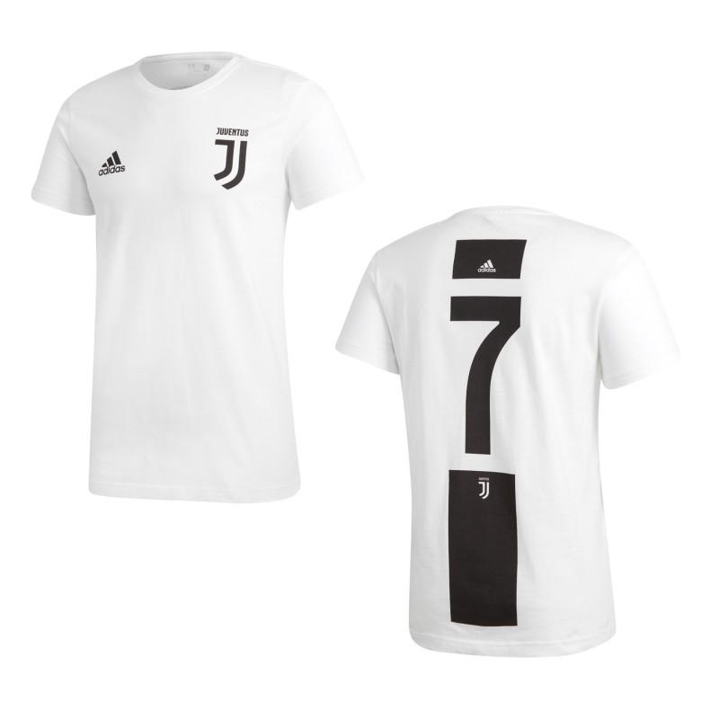 Juventus 7 Ronaldo Graphic t-shirt bambino 2018/19 Adidas