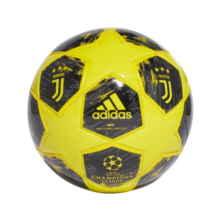 Adidas Juventus Mini pallone Champions League 2018/19 giallo