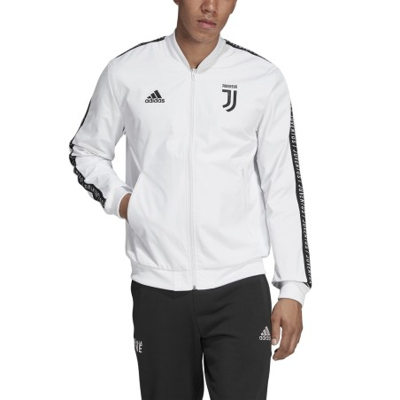 Juventus FC Hymne veste blanche Adidas 2018/19