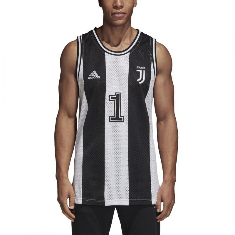 52327ba8fdc Adidas Juventus tank top Tank white black 2018 19