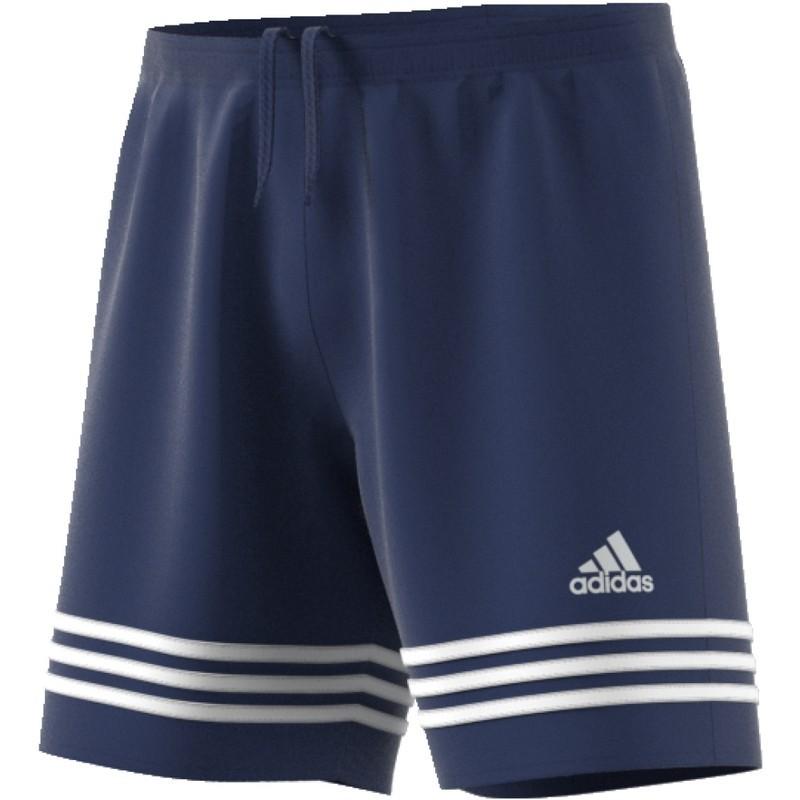 Adidas pantalones cortos de fútbol de baloncesto de Entrada 14 Azul marino