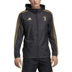 La Juventus, a prueba de viento chaqueta Adidas 2018/19