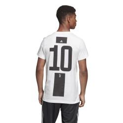 La Juventus de 10 Coup de pied t-shirt Graphique 2018/19 Adidas