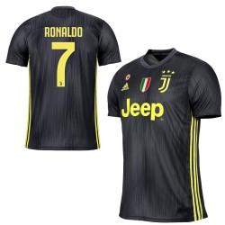 La Juventus Adidas 7 Ronaldo jersey troisième 3ème 2018/19