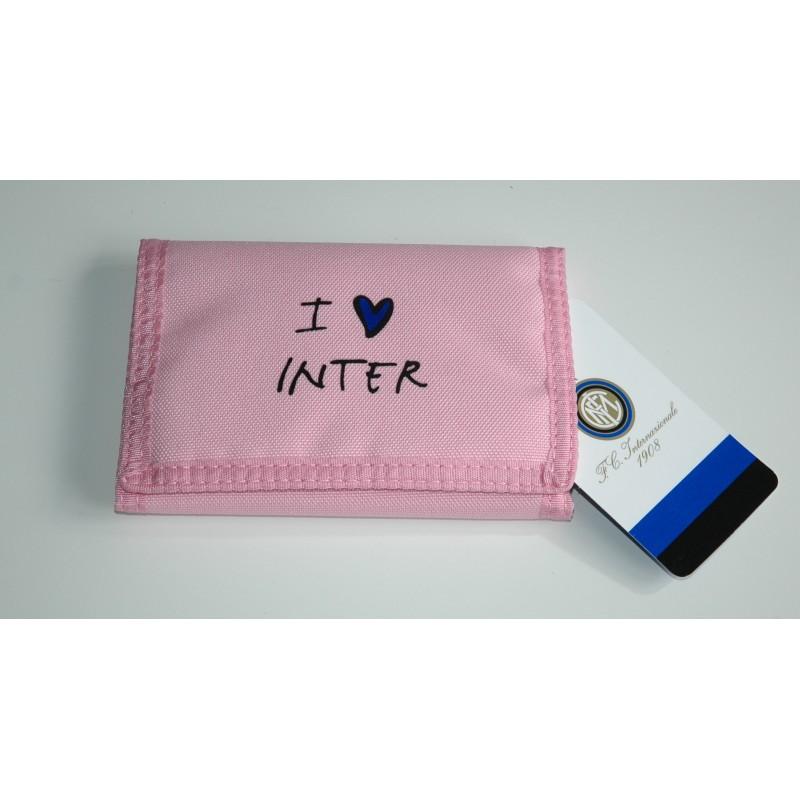 Inter portafoglio I love Inter prodotto ufficiale